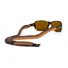 Suiter Xl Poly Brown Trout Blk by Croakies