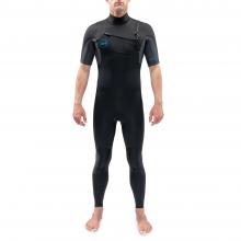 Quantum Chest Zip Short Sleeved Full Suit 3/2mm - Men's by Dakine