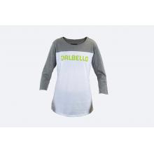 W'S Baseball Tee Gray White by Dalbello in Aspen CO