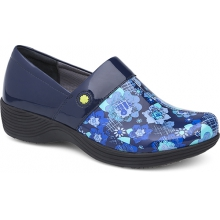 Women's Camellia Navy Floral Patent by Dansko