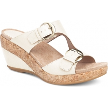 Women's Carla Ivory Full Grain by Dansko