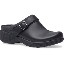 Women's Carnation Black Leather by Dansko