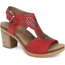 Women's Deandra Red Nubuck by Dansko