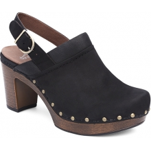 Women's Delle Black Milled Nubuck by Dansko