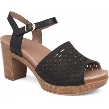 Women's Denita Black Milled Nubuck by Dansko