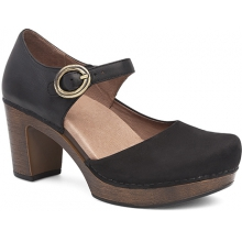 Women's Dorothy Black Milled Nubuck