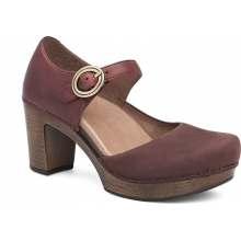 Women's Dorothy Wine Milled Nubuck by Dansko