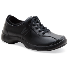 Women's Elise Black/Black Leather by Dansko