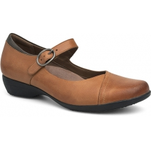 Women's Fawna Saddle Burnished Nappa by Dansko