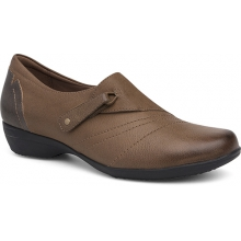 Women's Franny Taupe Burnished Nappa by Dansko