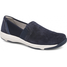 Women's Halle Navy Suede by Dansko