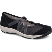 Women's Honey Black Suede by Dansko