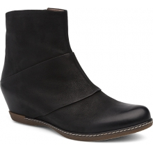 Women's Lettie Black Burnished Nubuck by Dansko