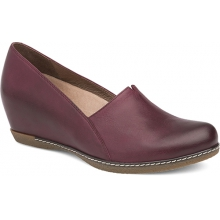 Women's Liliana Wine Burnished Nubuck by Dansko