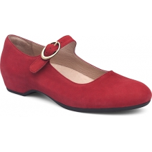 Women's Linette Red Milled Nubuck by Dansko
