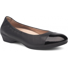 Lisanne Black/Black Milled Nappa by Dansko