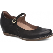 Women's Loralie Black Burnished Nubuck by Dansko