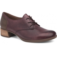 Women's Louise Wine Burnished Nappa by Dansko