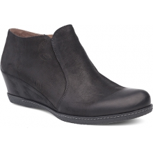 Luann Black Burnished Nubuck