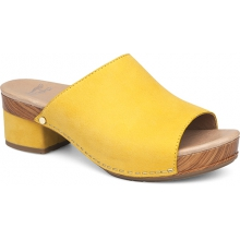 Women's Maci Yellow Milled Nubuck by Dansko