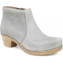 Maria Light Grey Milled Nubuck
