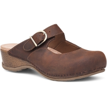 Women's Martina Antique Brown Oiled by Dansko