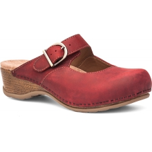 Women's Martina Red Oiled by Dansko
