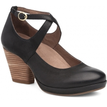 Women's Minette Black Burnished Nubuck