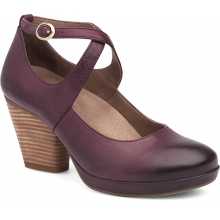 Women's Minette Wine Burnished Nubuck by Dansko