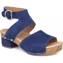 Women's Minka Blue Milled Nubuck by Dansko