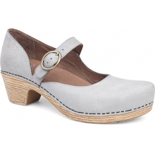 Women's Missy Light Grey Milled Nubuck by Dansko