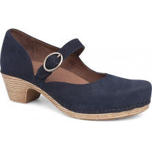 Women's Missy Navy Milled Nubuck by Dansko