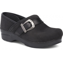 Women's Pammy Black Milled Nubuck by Dansko