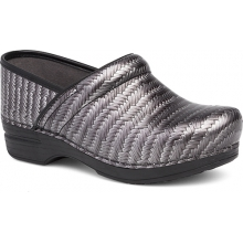 Women's Pro XP Grey Herringbone Patent by Dansko