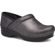 Women's Professional Black Metallic Suede by Dansko