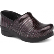 Women's Professional Wine Striped Patent by Dansko