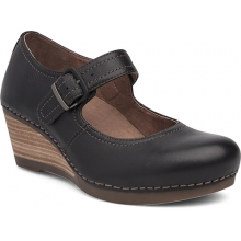 Women's Sandra Black Milled Nappa by Dansko