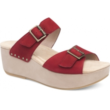 Women's Selma Red Nubuck by Dansko