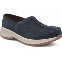 Women's Shaina Navy Milled Nubuck by Dansko