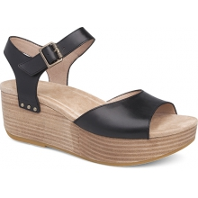 Women's Silvie Black Burnished