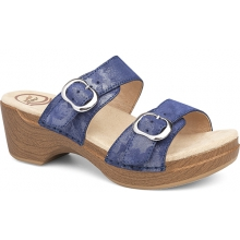 Women's Sophie Blue Shimmer Metallic by Dansko