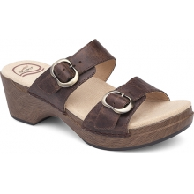 Women's Sophie Teak Vintage Pull Up by Dansko