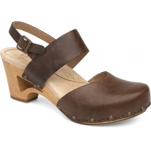 Women's Thea Teak Vintage Pull Up by Dansko