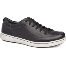 Men's Vaughn Black Tumbled Pull Up by Dansko