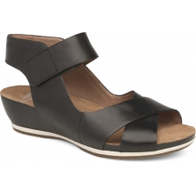 Women's Violet Black Burnished