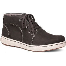 Men's Virgil Black Milled Nubuck by Dansko