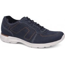 Men's Wesley Navy Milled Nubuck by Dansko