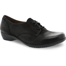 Women's Fallon Black Burnished Nubuck