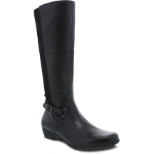 Women's Francesca Black Milled Nappa