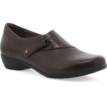 Women's Franny Chocolate Burnished Calf by Dansko